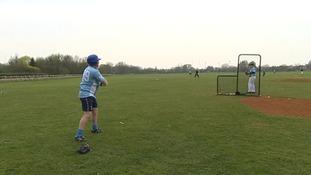 The Cambridge Royals in pre-season training.