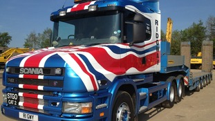 Corgi toys have even made a model of this patriotic vehicle from Ridgway Rentals celebrating the Diamond Jubilee