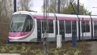 One of the new Midland Metro trams