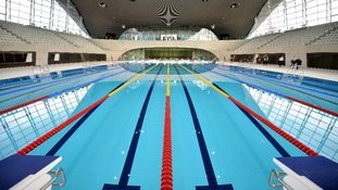 The 50m pool at London's Queen Elizabeth Olympic Park