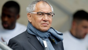 Fulham FC's manager, Felix Magath