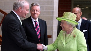 McGuinness and the Queen held an historic meeting in June 2012.