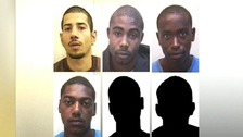 The six people have been found guilty of rioting in Nottingham in which a police station was firebombed.