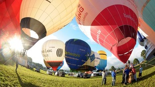 The city's annual balloon fiesta, which takes place at Ashton Court, attracts balloonists from across the world.