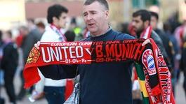 Manchester United versus Bayern Munich