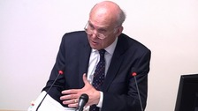 Vince Cable at the Leveson Inquiry