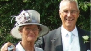 Glenis Freeman and her late husband Roger