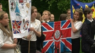 500 children in Jubilee parade