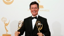 Stephen Colbert currently host the Emmy Award-winning show The Colbert Report.