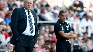 Chris Hughton wasn't impressed with his side's performance at Craven Cottage.