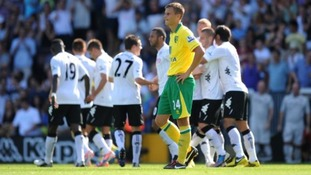 Norwich were blown away at Fulham.