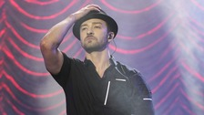 Justin Timberlake will be in Birmingham tonight