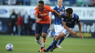 Andre Gray has been in superb form for Luton Town.