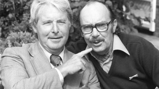 Eric Morecambe (right) was a Luton Town fan.