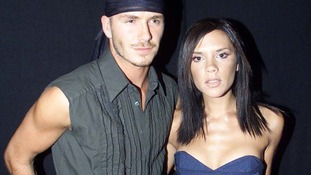 Victoria and David Beckham at The Prince's Trust Benefit concert in Hyde Park in July 2000.