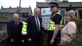 New Police base opens in Sedbergh