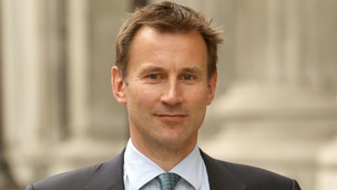 The Culture Secretary, Jeremy Hunt