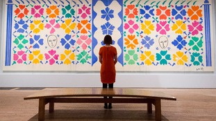 Matisse artwork collection displayed at Tate Modern