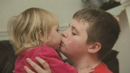 Boy helps others with eating disorders
