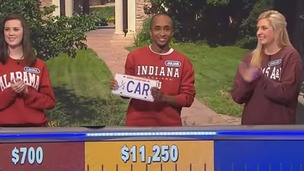 Indiana University student Julian Batts on the US gameshow.
