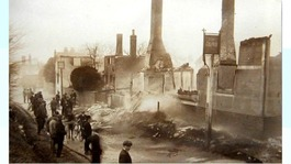 Villagers mark centenary of Little Chesterford fire