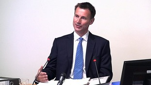 Jeremy Hunt 'sympathetic but not supportive' of BSkyB bid