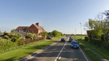 The A15 at Northorpe set for pedestrian crossing