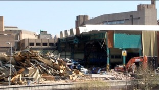 Demolition begins at Yorkshire Post building