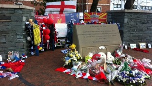 Memorial at Hillsborough