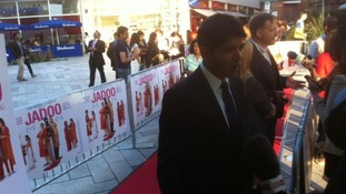 "The ""Jadoo"" film premiere in Leicester last September"