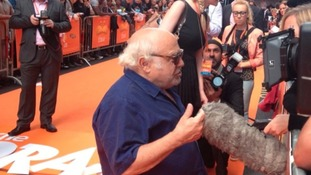 "Hollywood star Danny De Vito at ""The Lorax"" premiere in Birmingham last July"