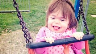 Two-year-old Seren-Rose is said to be unlikely live to adulthood if she is left untreated