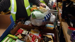 Number of food bank users up 163% in past year