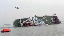 Rescue underway as S Korean ferry carrying students sinks