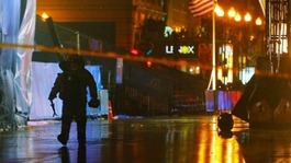 'Man charged' after security alert at Boston Marathon vigil