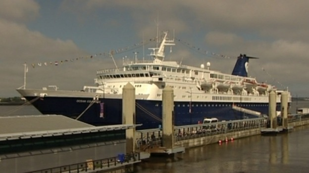 The Ocean Countess in Liverpool