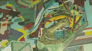 The Paolozzi Mosaics are world famous