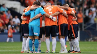 Luton Town will be playing in League Two next season.