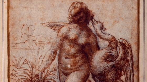 Leda and the Swan by Leonardo da Vinci