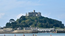 St Michael's Mount in Cornwall was ranked one of the lowest for its accessibility for disabled visitors