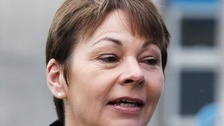 Caroline Lucas MP found not guilty