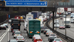 Drivers are warned about traffic jams as people are expected to head off for a short break