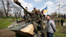 World powers agree steps to de-escalate Ukraine tensions