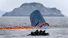 Captain not at helm when South Korean ferry capsized
