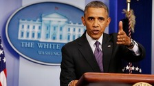 Obama cautious over Ukraine deal: 'Sanctions still possible'