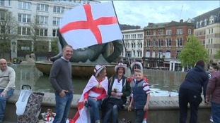Hundreds come out to celebrate England's Patron Saint