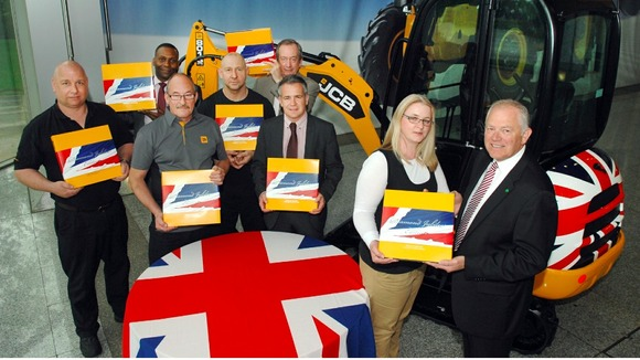 A special gift for JCB employees to mark The Queen's Diamond Jubilee