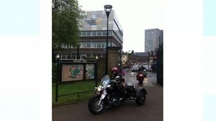 Bikers at Sheffield Children's Hospital