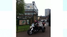 Bikers at Sheffield Children's Hospital