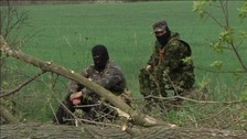 Two dead after shooting in Ukraine despite Easter truce